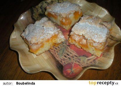 Meruňkové řezy s kokosovou pěnou recept - TopRecepty.cz