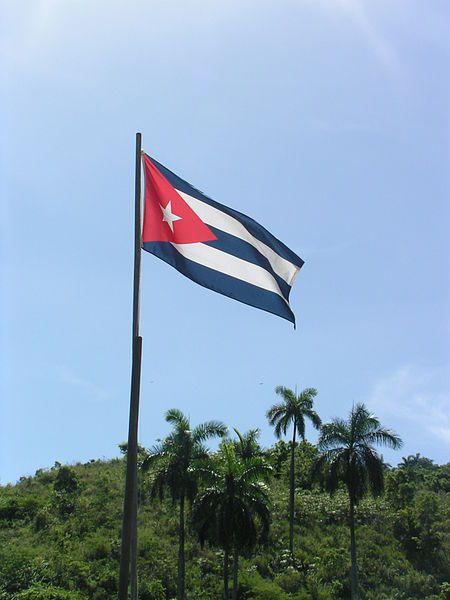 Flagge Kubas  Bandera Cubana