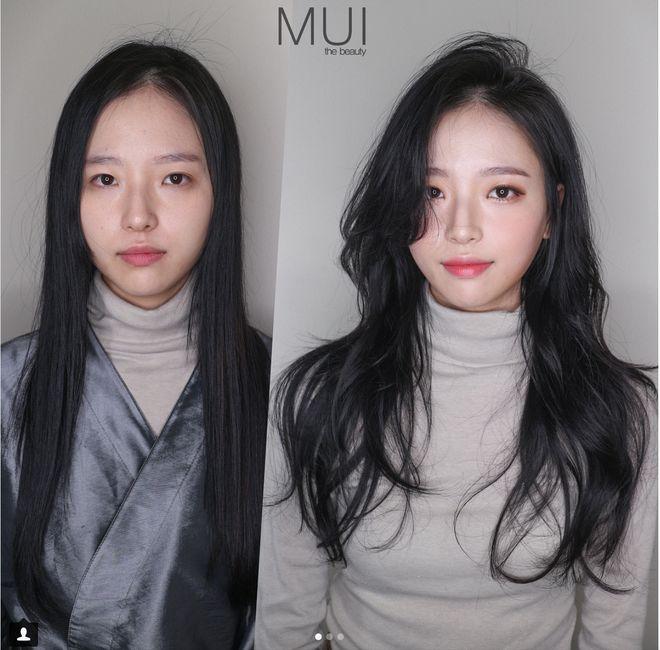 чёрный фото японок без макияжа использовании ролевого шва