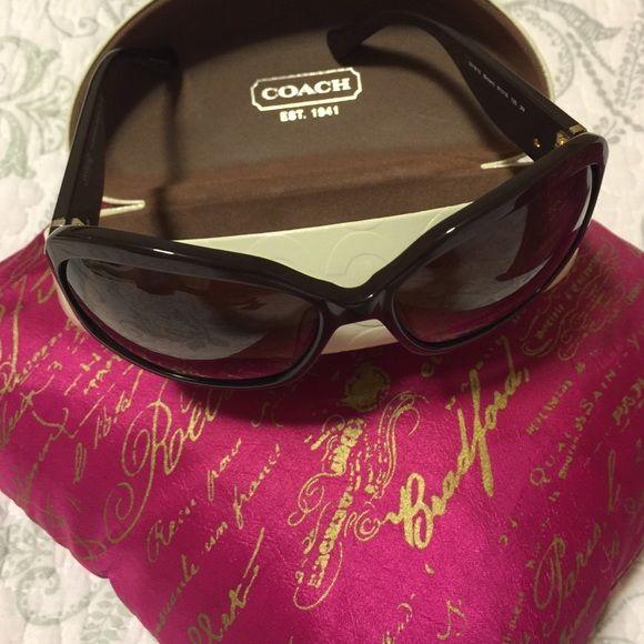 Sunday Sale!!!!Coach sunglasses NWOT Fun and never used Coach sunglasses! Coach Accessories Sunglasses