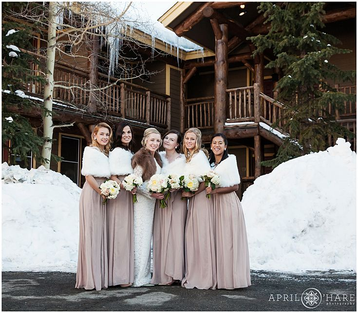 Colorado Winter Wedding With Snow On The Ground At Lodge And Spa Breckenridge