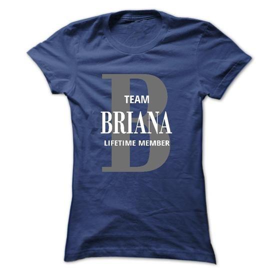 Briana TEE - #designer shirts #unique t shirts. GUARANTEE => https://www.sunfrog.com/Names/Briana-TEE-Ladies.html?60505