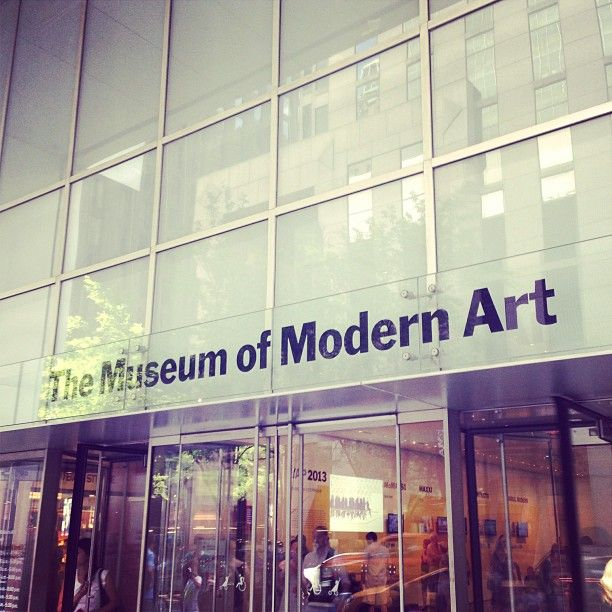The Museum Of Modern Art (MoMA) Is Home To The Largest Collection Of Modern