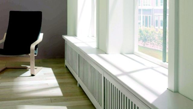 radiatoren ombouwen tot zitbank
