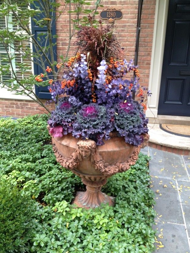 Fall Gardening Ideas Part - 24: Fall Container Plantings (40)