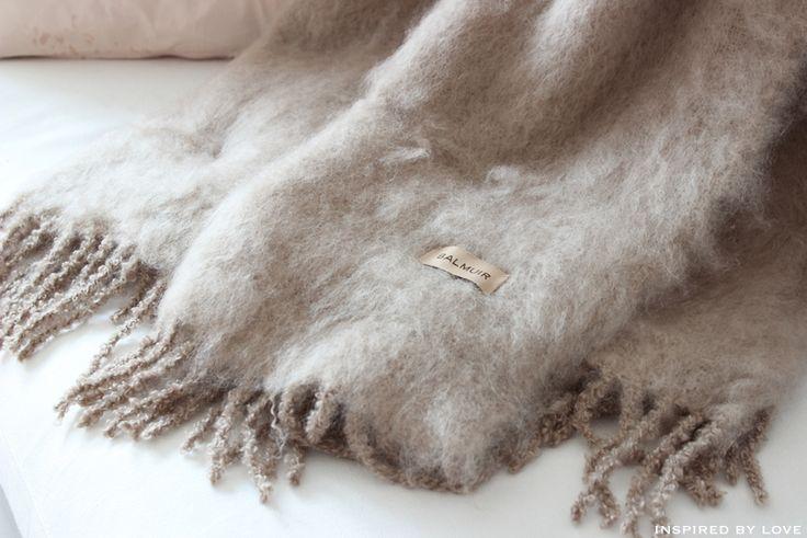 Balmuir mohair blanket