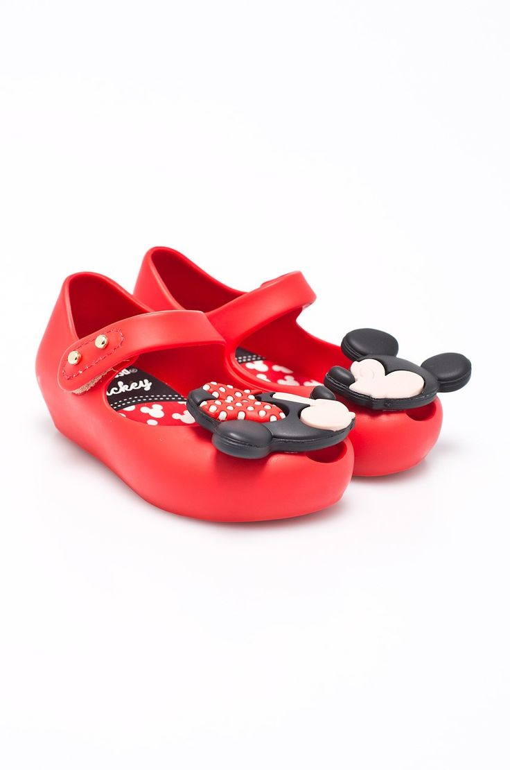 Balerini copii Minnie Mouse din masa plastica Mel-flex aromatizata