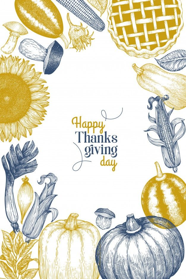 Happy Thanksgiving Day Greeting Card Template In 2020 Greeting Card Template Happy Thanksgiving Day Thanksgiving Wallpaper