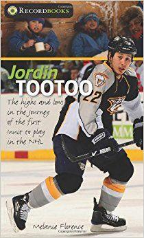 """Jordin Tootoo: The Highs and Lows in the Journey of the First Inuit to Play in the NHL - mențiune de onoare în anul 2012 Categoria """"literatură pentru școala generală"""" Autor și ilustrator: Melanie Florence"""
