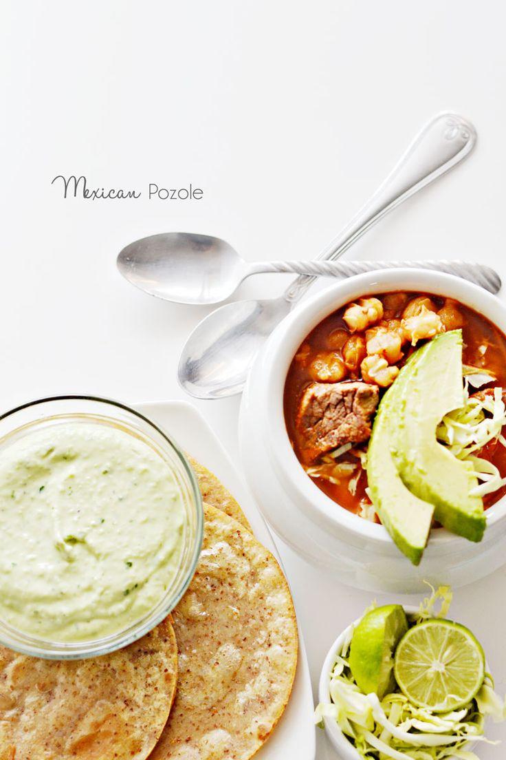Mexican Pozole Recipe #iloveavocados » Little Inspiration