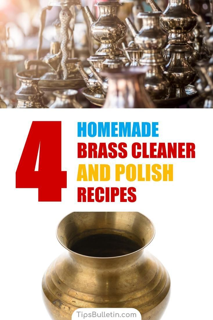 4 Amazing Homemade Brass Cleaner And Polish Recipes Diy