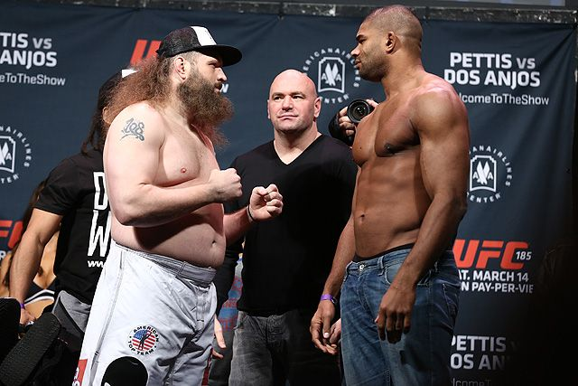 Alistair Overeem vs Roy Nelson Fight Gif From UFC 185