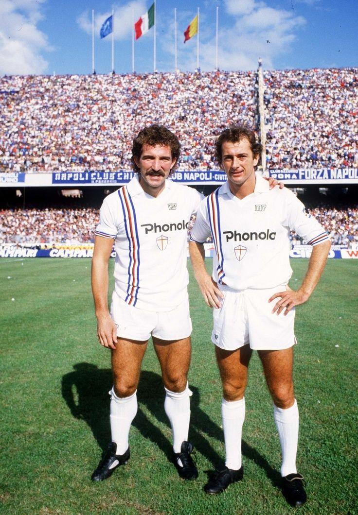 Graeme Souness and Trevor Francis (Sampdoria) 1984