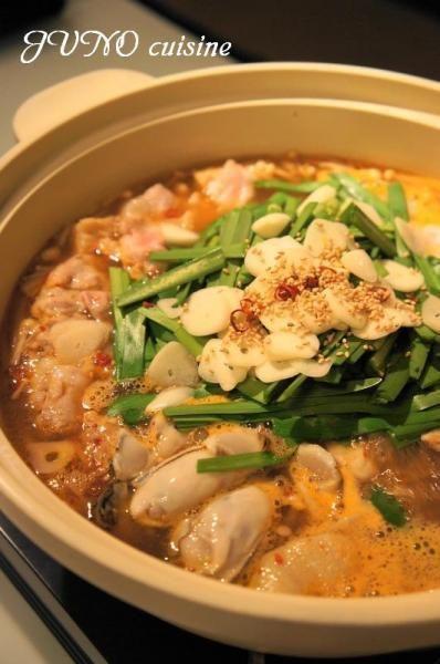 ☆牡蠣と豚肉のあったか味噌鍋☆
