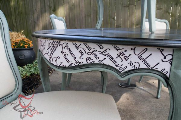 Hometalk :: French Provincial Table Makeover!