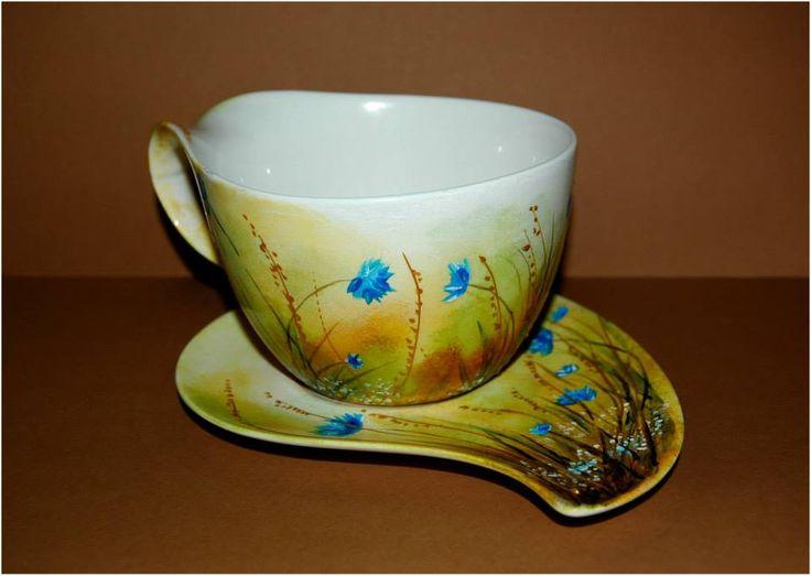 wiosenna filiżanka  artist: Edyta Muszelik