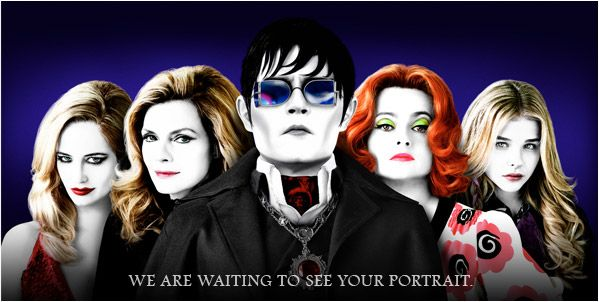 """Oohhh, cool new competition on DeviantArt, for Tim Burton's upcoming movie (with Johnny Depl, of course), """"Dark Shadows.""""  Can't wait to see some of the entries!"""