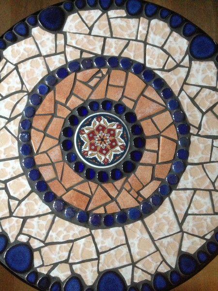 Beistelltische Mosaik Tisch Beistelltisch Garten Bistrotisch
