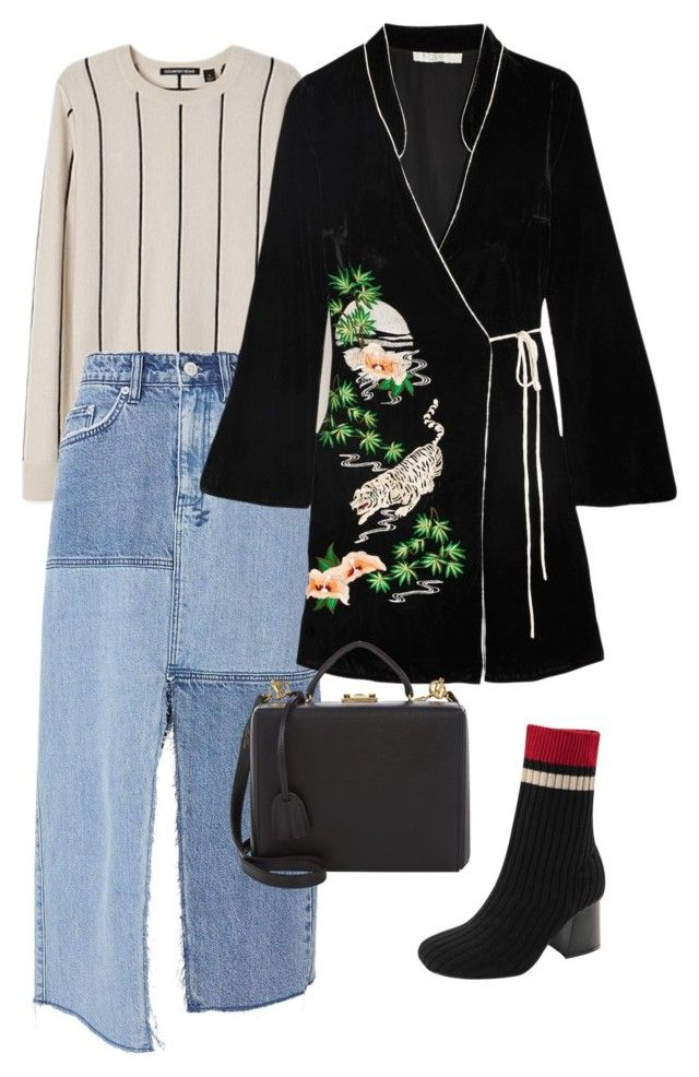 """Untitled #694"" by szudi on Polyvore featuring Ksubi, RIXO London and Mark Cross"