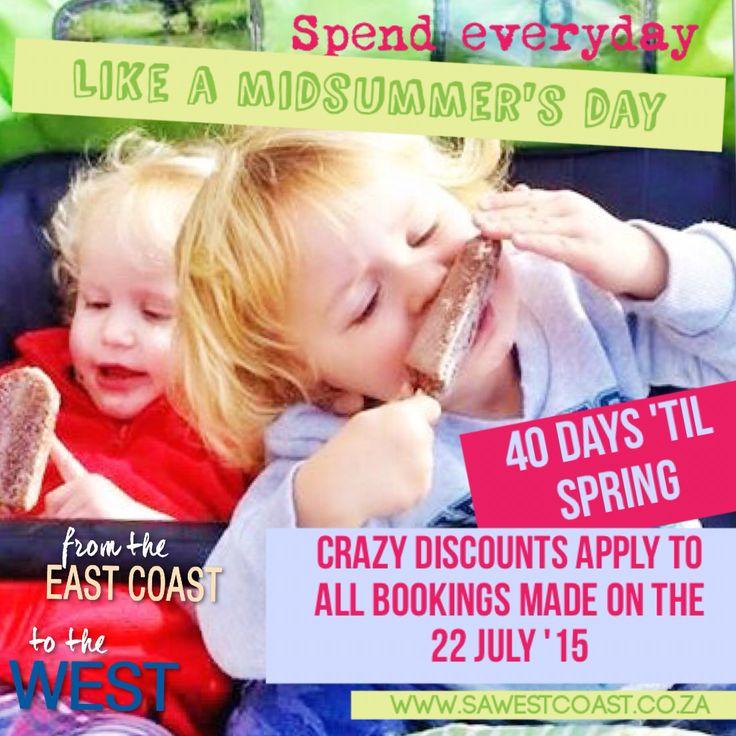 Crazy one day sale in celebration of #40daystilspring sale!