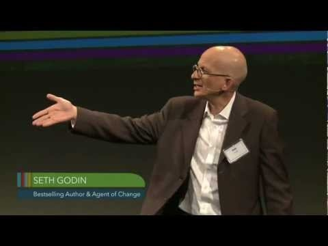 Market creation is hard! Seth Godin on early-stage market development. Great speech from the Acumen series.