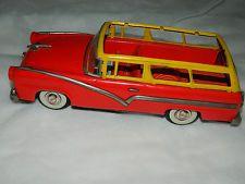 Rare! Antique Japanese Retro Vehicle Vintage FORD Friction Car Tin Toys