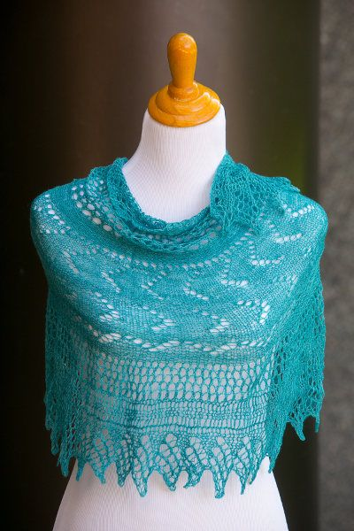 Colors of the Sea Shawl CRAFTS - KNITTING & CROCHET ...