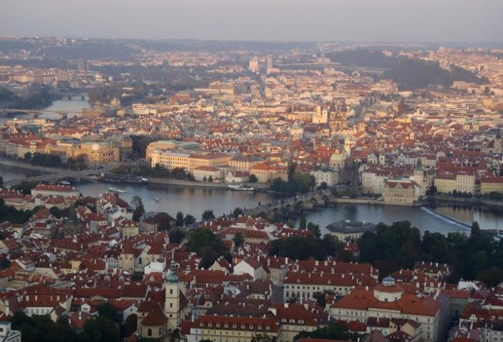 Prague in The Czech Republic