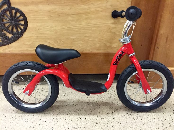 Kazam balance bike. As seen on Shark Tank. Affordable fun. Super good for your young cyclist development. $89