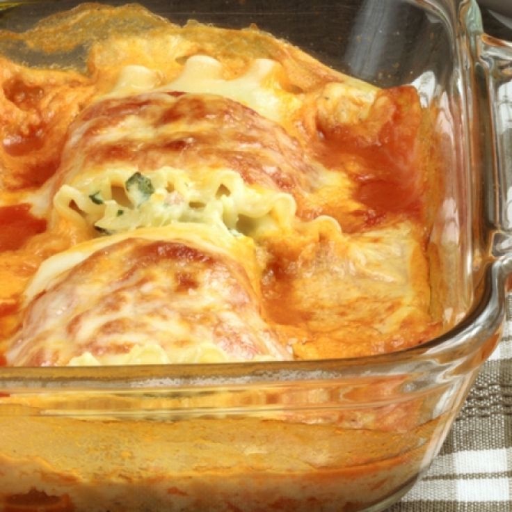 A fun lasagna noodle recipe that can be filled with just about anything and will always turn out delicious.