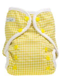 seedling baby pocket cloth nappy available at Apikali Modern Cloth Nappies