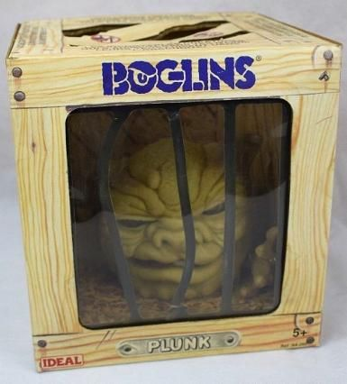 Boglins Plunk toy by Ideal (1987)