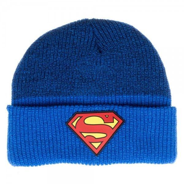 GORRO DE LANA SUPERMAN