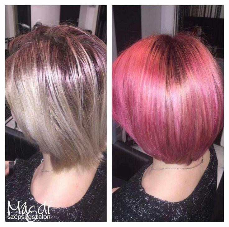 Ha oda vagy az extrém színekért, ezt csípni fogod ;)  www.magdiszepsegszalon.hu  #hairstyle #hair #hairfasion #haj #festetthaj #coloredhair #széphaj #szépségszalon #beautysalon #fodrász #hairdresser #ilovemyhair #ilovemyjob❤️