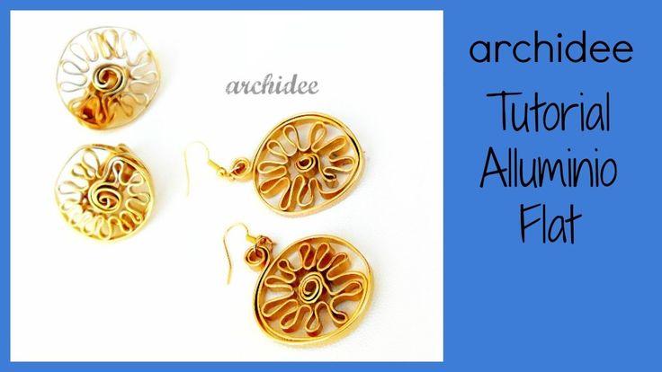Alluminio Flat | Tutorial | Anello e Orecchini CUZCO | DIY Wire Ring and Earrings