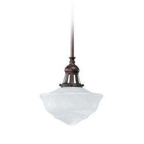 quorum lighting oiled bronze pendant light