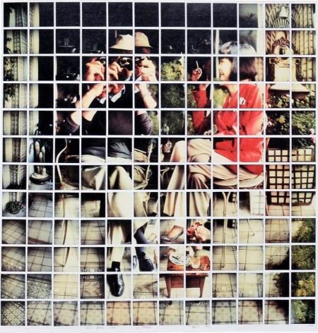 David Hockney - polaroids collages