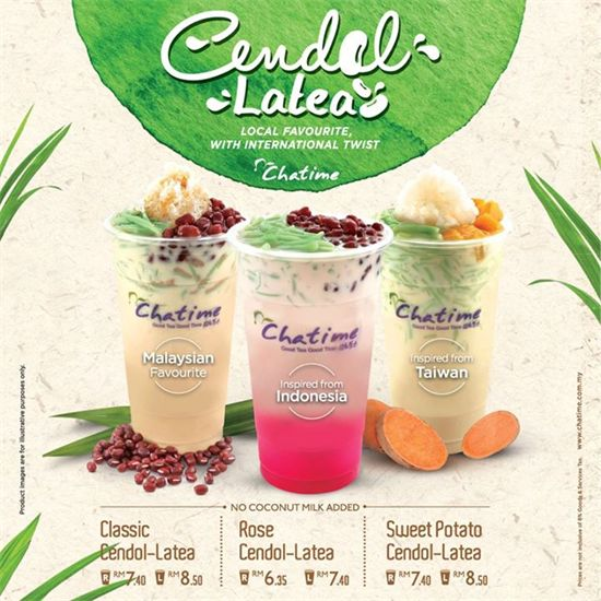 20-31 May 2015: Chatime Classic Cendol-Latea Promotion
