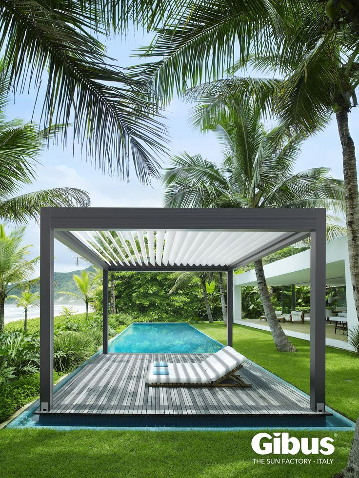 Med Twist, the bioclimat pergola by Gibus