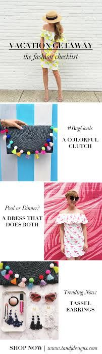 Vacation Check List Fashion Blog Post What To Bring On