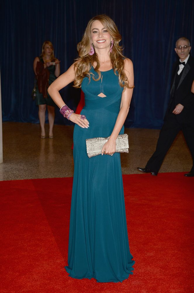 White House Correspondents' Dinner 2013: Sophia Vegara