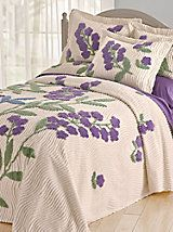 Westbrook Chenille Bedspread and Sham   Blair