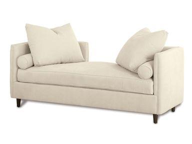 Shop For Kravet Andante Plain Recamier, D227P REC W, And Other Sofas At  Kravet