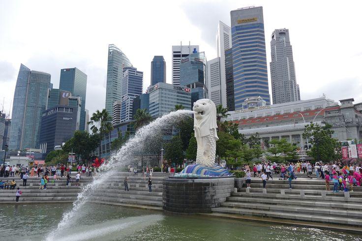 Singapur, Merlion – das Wahrzeichen der Stadt
