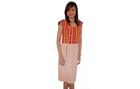 Women's Dress. Hand made from Indonesian loom by SignatureofNana
