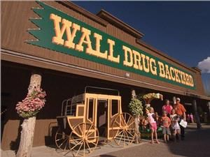Wall Drug - The #1 Roadside Attraction in the world.