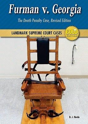 Sassy Peach, Book Blogger: Furman v. Georgia: The Death Penalty Case