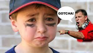Bullying in kids sport  https://suecutbill.wordpress.com/2015/03/02/bullying-in-kids-sport/