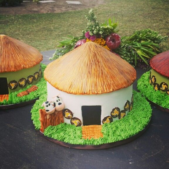 Xhosa Huts For A Traditional Xhosa Wedding, By Www