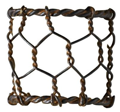 Check out the deal on Chicken Wire Napkin Ring at Primitive Home Decors